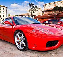 Ferrari Show Day - 360 Modena by RatManDude