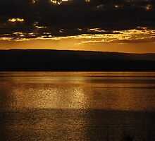 Golden Sunset (No 2) by Tomasz Ciolek