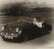 My Old TR3A by David J Knight