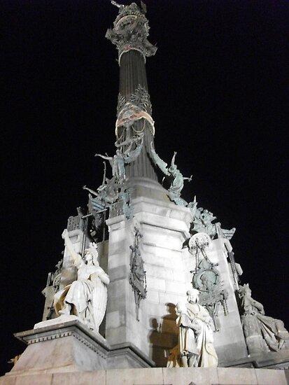 Monumento a Colon, Barcelona by corder-courtier