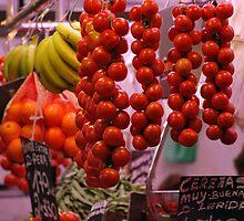 Hanging veggies. by John Easterhouse