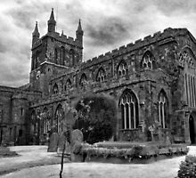 Parish Church, Crediton, Devon by Squealia