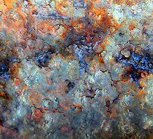 Ocean Oil Spill Abstract by Haydee  Yordan
