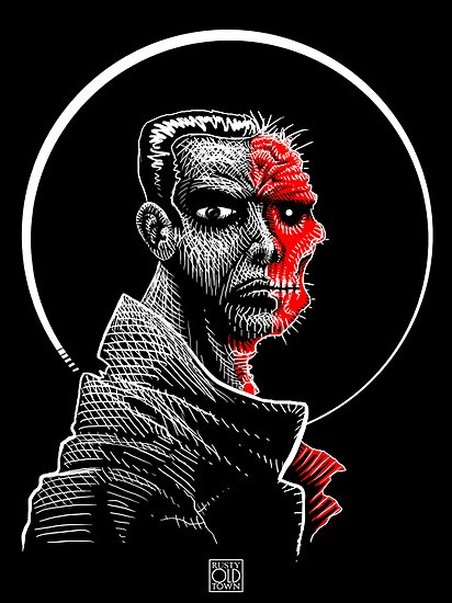 Two-Face by Rustyoldtown