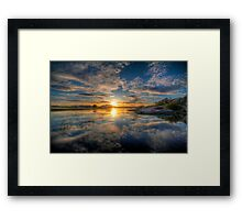 Sunset Reflect 1 Framed Print