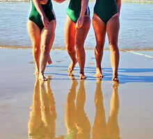 Anglesea girls compete by Andy Berry