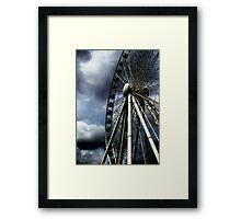 Wheel go round Framed Print