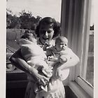 Twins 1956;  What a Loving Arm Full by roserock