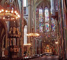 St. Francis Xavier Church - Amsterdam by David J Dionne
