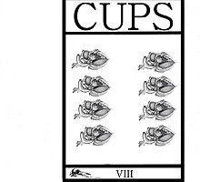 8 of Cups by Peter Simpson