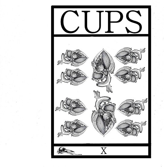 10 of Cups by Peter Simpson