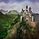 Neuschwanstein Castle by andy551