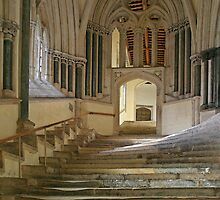 Chapter House Steps by RedHillDigital