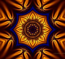 Kaleidoscope Fractal by Julie Everhart
