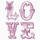 L-O-V-E SPELLS LOVE by TheLoveShop