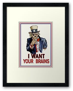 Uncle Sam Zombie by ZugArt