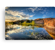 Willow Cove Canvas Print