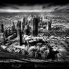 Sheikh Zayed Road - A Dubai View by springwatcher