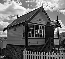 Cheddleton Signalbox by David J Knight