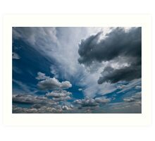 ditchling beacon sky Art Print