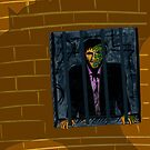 Harvey Dent, watching, waiting, planning by Octochimp Designs