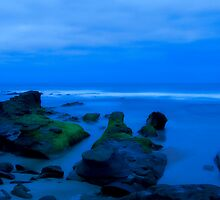 Low Tide in Blue by oastudios