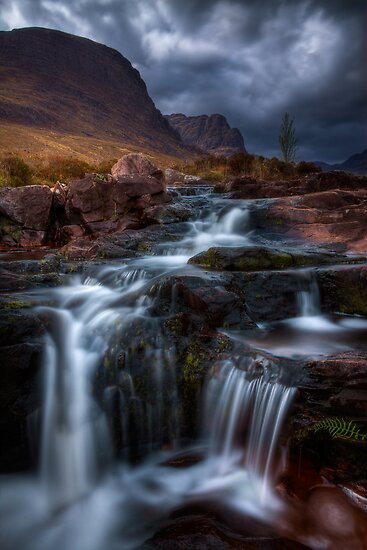 The Russell Burn , Applecross, Western Scotland. by photosecosse /barbara jones