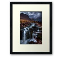 The Russell Burn , Applecross, Western Scotland. Framed Print