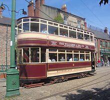 An electric tramcar by GEORGE SANDERSON