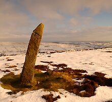 Standing Stone, Blakey Ridge, Farndale, North Yorkshire Moors by James Paul