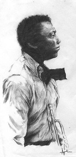 Miles Davis by kagcaoili