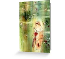 a day in the summer * special print requests tokikoandersonart@gmail.com Greeting Card