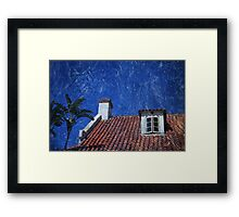 He Came In Through The Window Framed Print