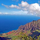 Kalalau Valley by Clyde  Smith