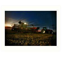 Night Harvest Art Print
