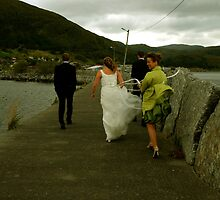 Monica & Stephan & Bridesmade and Best man by Anita Orheim