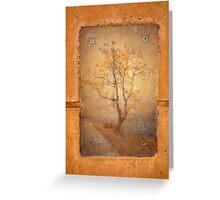 The Last Tree Greeting Card