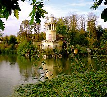 Marie Antoinette's Village - Versailles, France by Britland Tracy
