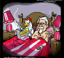 Chickens Who Love Too Much By Londons Times Cartoons by Rick  London