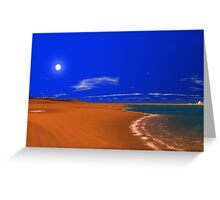 Dunes World - Hot n' Cold Greeting Card