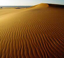 Dahna Dune Sunset by Peter Doré