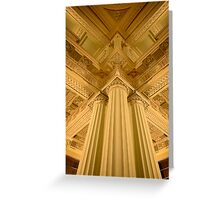 Parliament Library - Melbourne Greeting Card