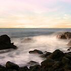 Rocky Sunset by Tyhe  Reading