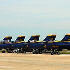 Blue Angels - Andrews Flightline by jermesky