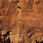 Petroglyphs near Pueblo Bonito, Chaco Canyon, NM by outcast1