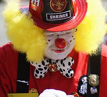 Fireman Clown, Canada Day 2009 by Brian Middleton