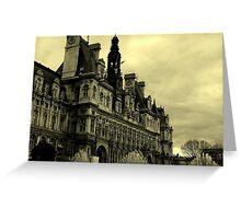 Hotel De Ville Greeting Card