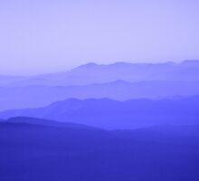 Mountain Blue by DJGPhoto
