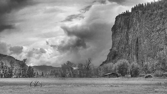 The Bluff bw by John Poon