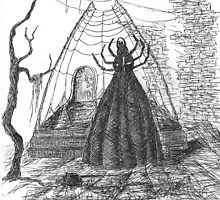 Drawing Day- The Spider Queen by Neoran